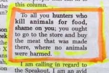 Do We Need To Kill Other Animals?