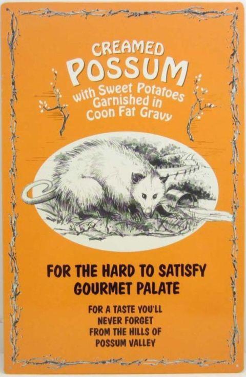 How To Cook A Possum – Old Time Possum Recipe « Hillbilly