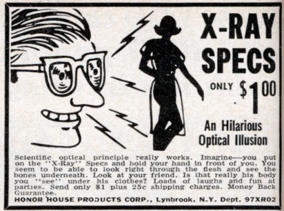 X-ray Specs Y'all!
